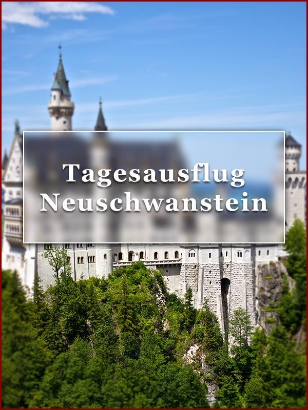 Tagesausflug zum Schloss Neuschwanstein und Linderhof im Oldtimerbus